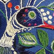 2c/21 Weiterbildung Textilkunst, Schwerpunkt Sticken